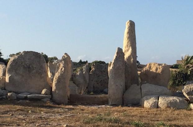 Steine und Formen auf Malta